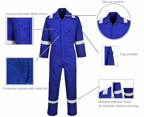 Custom Safety Working Coveralls Sale